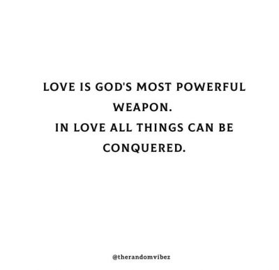 Inspirational Love Conquers All Quotes