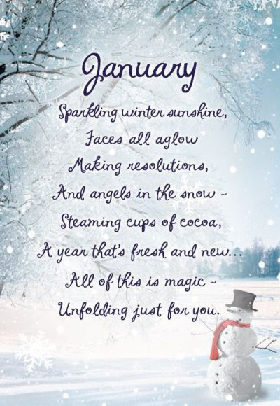 Inspiring January Picture Quotes