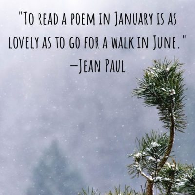 January Inspirational Quotes