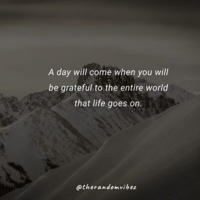 Life Goes On Status Message