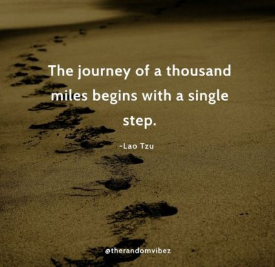 One Small Step At A Time Quotes