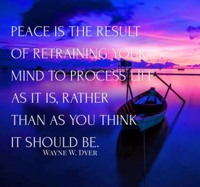 Picture Quotes On Peace