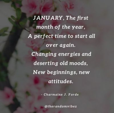 Positive January Quotes