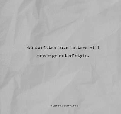 Quotes About Writing Letters