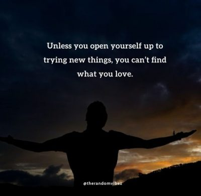 Sayings About Trying New Things