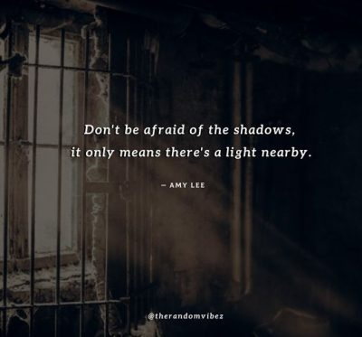 Shadow Quotes Images