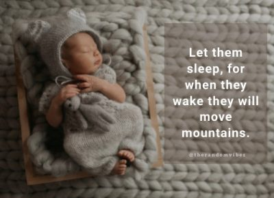 Sleeping Baby Quotes Images