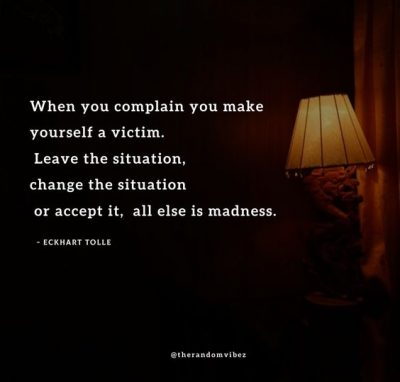 Stop Playing Victim Quotes