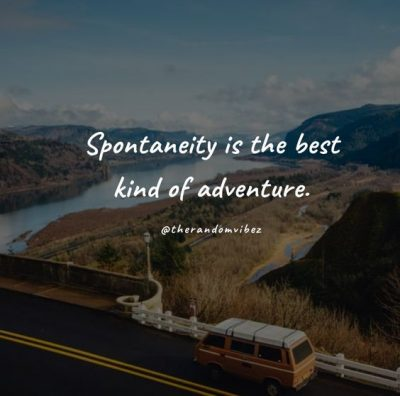 Sudden Travel Trips Quotes
