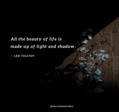 Sunshine And Shadow Quotes
