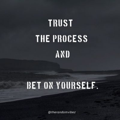 Trust And Enjoy The Process Quotes