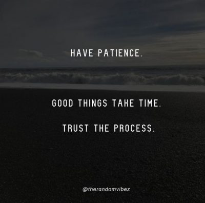 Trust The Process God Quotes