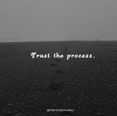 Trust The Process Quotes Images