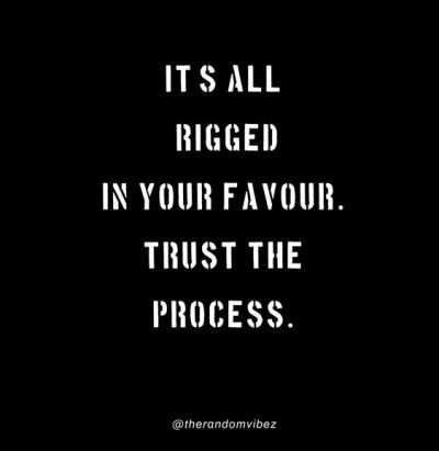 Trusting The Process Quotes