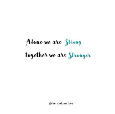 We Are All In This Together Quotes