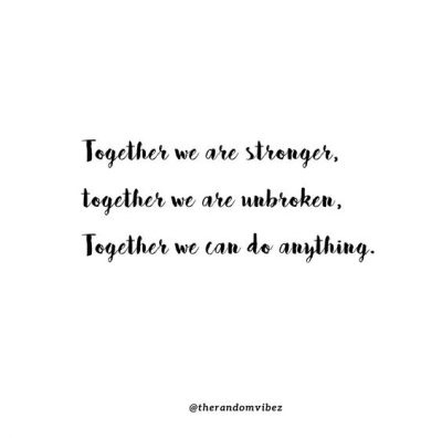 We Are All In This Together Quotes COVID