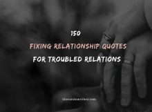 50 Fixing Relationship Quotes For Troubled Relations