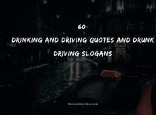 60 Drinking And Driving Quotes And Sayings