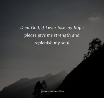 God Make Me Strong Quotes