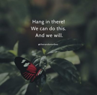 Hang On Quotes