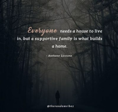 Unsupportive Family Quotes Images