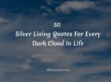 50 Silver Lining Quotes For Every Dark Cloud In Life