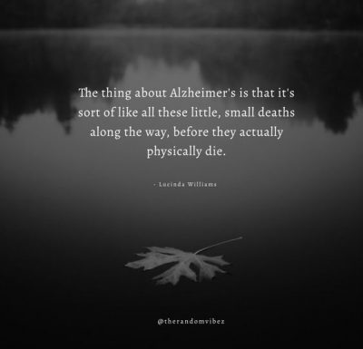 Alzheimer Quotes Images