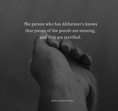 Alzheimer's Quotes For Family