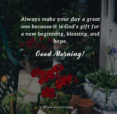 Beautiful Blessed Morning Quotes