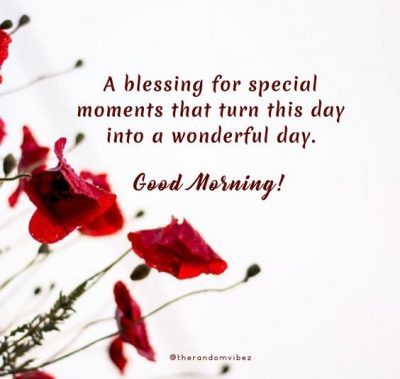 Blessed Morning Quotes Pictures