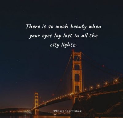 City Light Quotes Images
