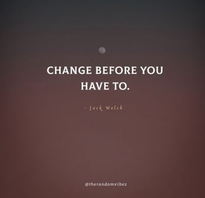 Dealing With Change Quotes