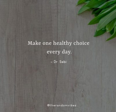 Dr. Sebi Quotes About Health
