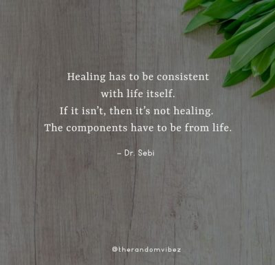 Dr. Sebi Quotes About Life