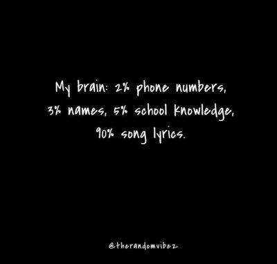 Funny Relatable Music Quotes
