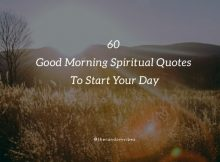 Good Morning Spiritual Quotes With Images