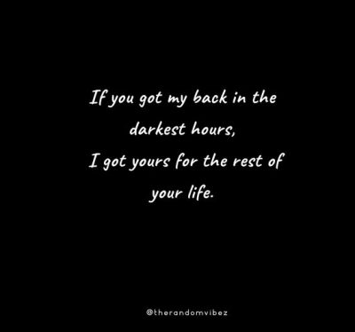 I Got Your Back Quotes Images