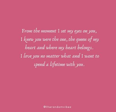I love you no matter what quotes for her