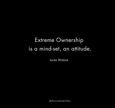 Jocko Willink Extreme Ownership Quotes