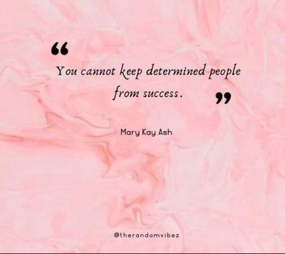 Mary Kay Quotes On Success