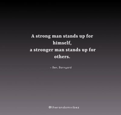 Motivational Strong Man Quotes