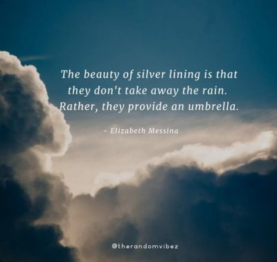 Positive Silver Lining Quotes