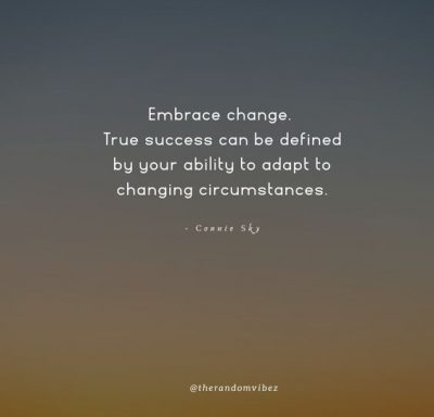Quotes About Accepting Change