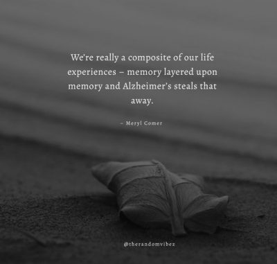Quotes About Alzheimer