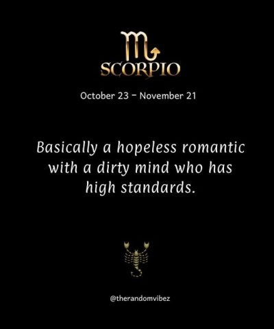 Quotes About Being A Scorpio