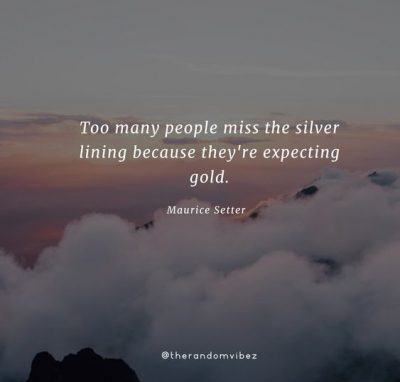 Quotes On Silver Linings
