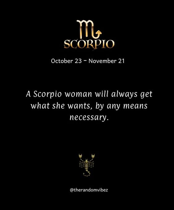 What to say to a scorpio woman