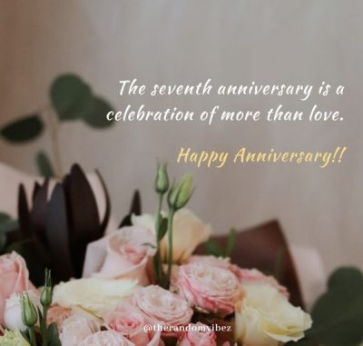 7 Year Anniversary Quotes