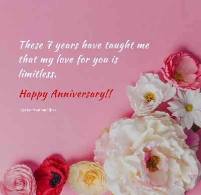 7 Years Of Love Quotes