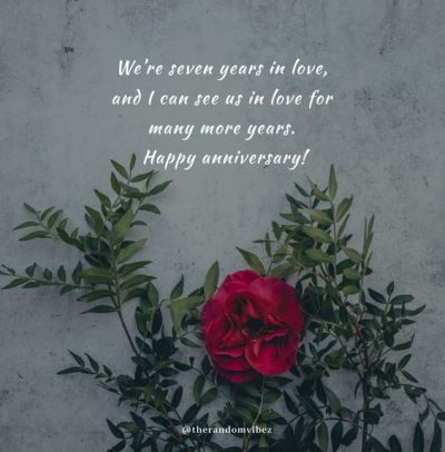 7th Anniversary Quotes For Husband